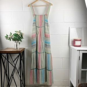 FREE PEOPLE Anika Maxi Colorful Dress Size X-Small